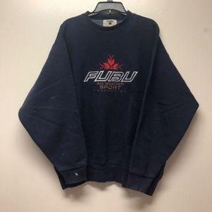 VINTAGE FUBU Heavy Crewneck Sweatshirt Men Large